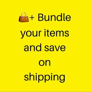 Other - Bundle 👜+ more than one item and sa…